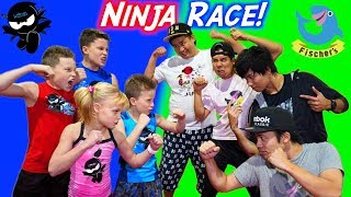 American Ninja Warrior vs Japan Ninja Warrior Race!