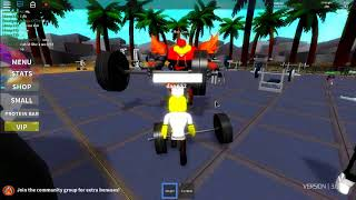 Randomness And bestgameplayer273 protecting me - ROBLOX Weight Lifting Simulator 2
