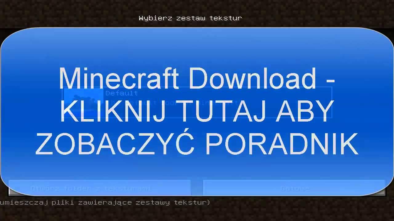 minecraft by zyczu instalki