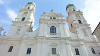 Passau  Die Drei Flüsse Stadt in 4K(Passau nennt man auch die Drei Flüsse Stadt, aus drei Himmelsrichtungen kommen Flüsse, aus dem Westen die Donau, aus dem Süden der Inn und aus dem ..., 2016-10-02T15:25:27.000Z)