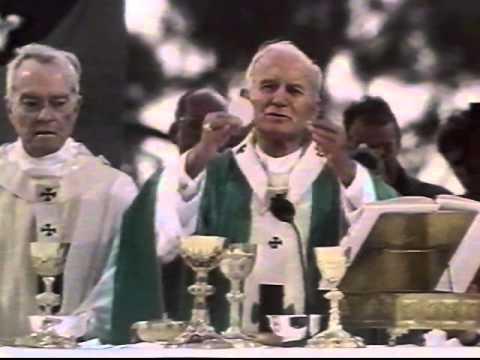 Pope John Paul II In New Orleans WLAE-TV32