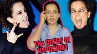 The Queen Of Hypocrisy Ft. Kangana Ranaut || Kangana Ranaut Roast || Bad Villager