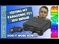 3/3 - Fixing the Panasonic 3DO - Did my repair work?? 3DO REAL FZ-1 Repair