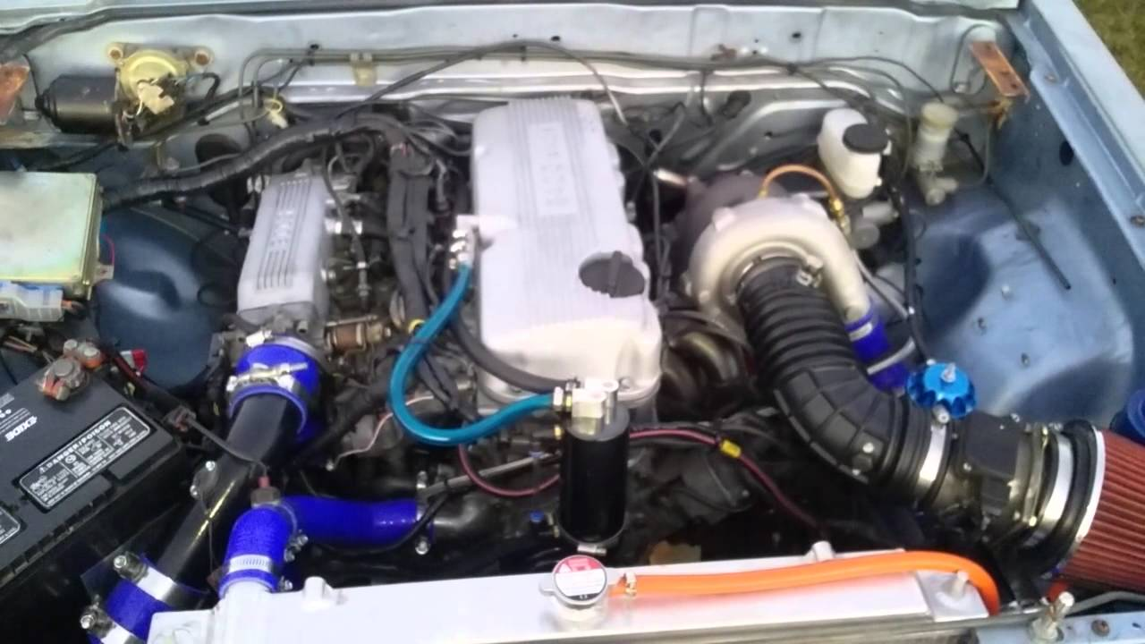 Ka24e-t swapped 720 pickup 2wd 5spd