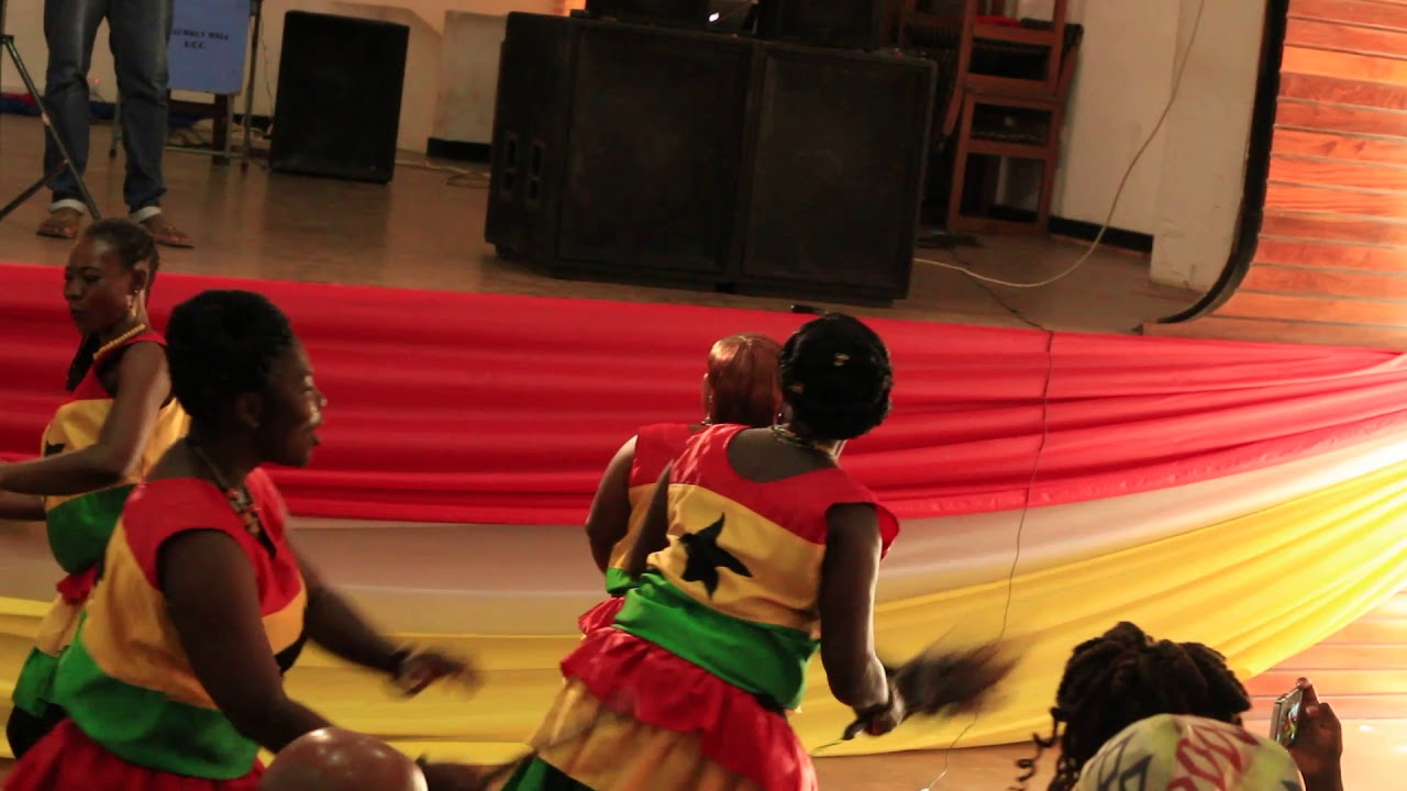 Download GHANAIAN DANCERS PERFORM SLOW AGBOKOR