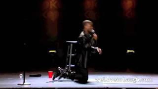 Kevin Hart - How Shaq Falls (Seriously Funny)