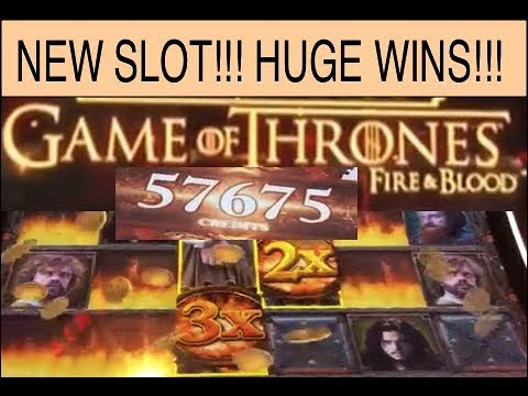 NEW SLOT! GAME OF THRONES FIRE BLOOD! HUGE WINS! - YouTube