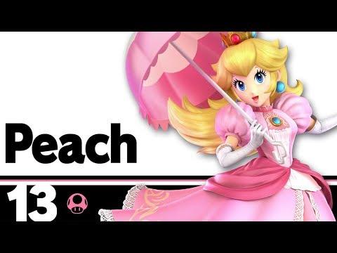 13: Peach 鈥� Super Smash Bros. Ultimate