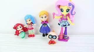 Oyuncak Karekterleri Tanıyalım Evcilik Oynuyoruz Prensesler Yeni Kız Oyuncakları