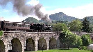 Treno a vapore in Valsugana: Dampfzug Trento - Bassano del Grappa - Vicenza