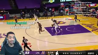 FlightReacts WARRIORS at LAKERS | FULL GAME HIGHLIGHTS | February 28, 2021!