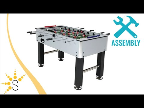 Serenity Health And Home Decor.Sunnydaze Metallic Foosball Table Sports Arcade Soccer For Game Room Eg 718