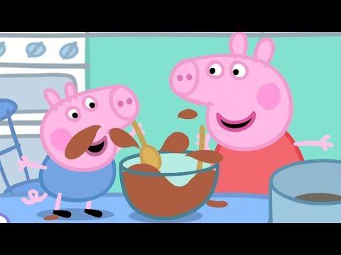 Peppa Wutz 🍰 Kuchen Backen Mit Peppa Und Schorsch  | Peppa Pig Deutsch | Cartoons Für Kinder