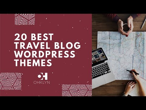 20 Best WordPress Themes for Travel Blogs | For 2017 & 2018