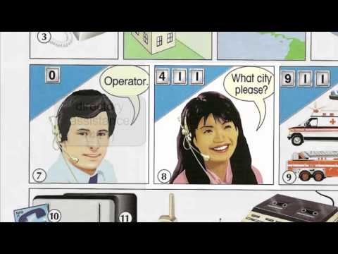 Oxford dictionary | Lesson 6 : The Telephone | Learn English | Oxford picture dictionary
