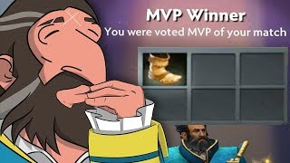 I won a game buying boots only with Kunkka