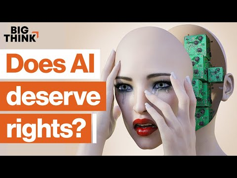 Does conscious AI deserve rights? | Richard Dawkins, Joanna Bryson, Peter Singer & more | Big Think