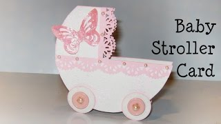 Baby Stroller Card