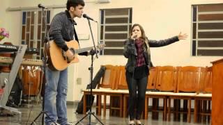Gio e Alvaro - Vim para Adorar-Te (Cover)