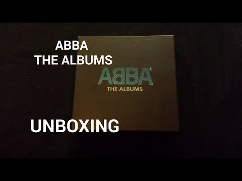 ABBA - THE ALBUMS (BOX SET) | UNBOXING