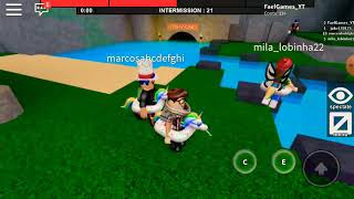FUGINDO DA FERA DA MARRETA- Roblox (flee the facylit