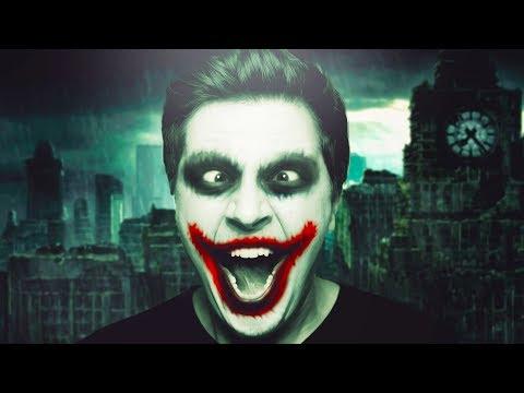 Jokers Gesicht im Gesicht - Wootbox Unboxing