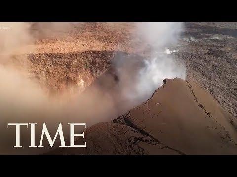 Aerial Views Of Hawaii's Kilauea Volcano Eruption   TIME