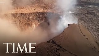 Aerial Views Of Hawaii's Kilauea Volcano Eruption | TIME
