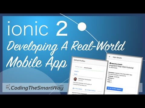 Ionic 2 - Developing A Real-World Mobile App