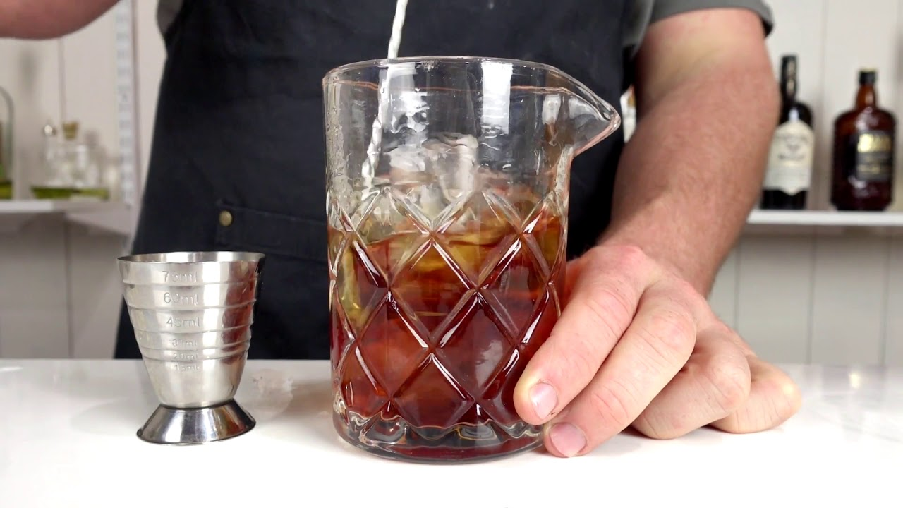 GREENPOINT - Brooklyn / Manhattan Inspired Cocktail