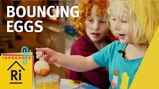 Science For Kids – How To Make Bouncing Eggs – ExpeRimental #12