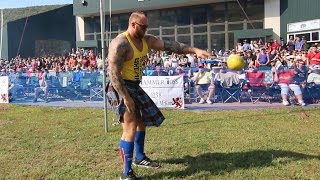 THOR (THE MOUNTAIN) THROWS WORLD RECORD | Hafthor Bjornsson at the Highland Games