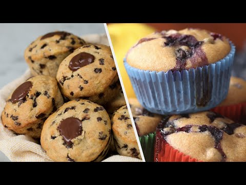 5 Delicate & Warm Muffin Recipes • Tasty
