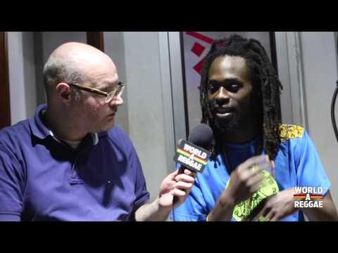 Jesse Royal Interview at Anchor Studios Kingston, Jamaica