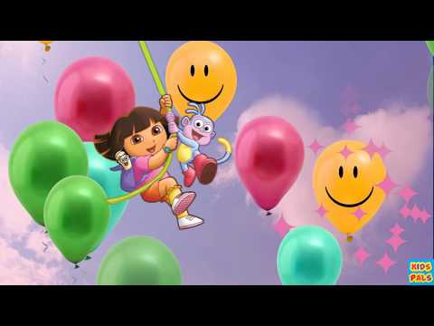 HAPPY BIRTHDAY SONG/DORA THE EXPLORER/SONGS FOR BABIES,KIDS,TODDLERS/NURSERY RHYMES.