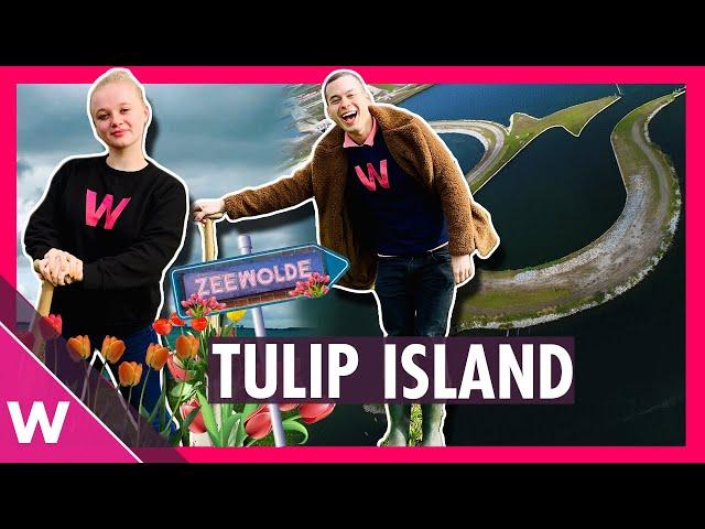 🇳🇱Welcome to Tulip Island! | Eurovision 2020 travel | Zeewolde, Flevoland