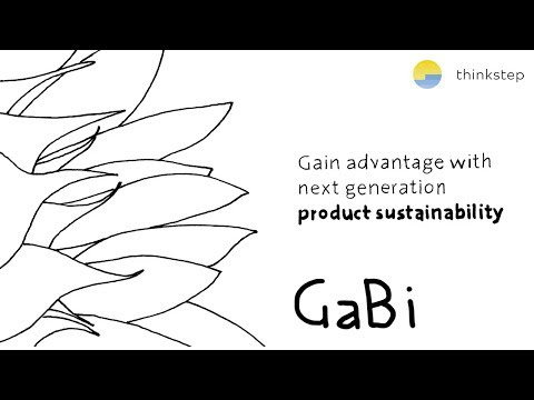 LCA Software GaBi In 5 Minutes - The No. 1 Product Sustainability Software