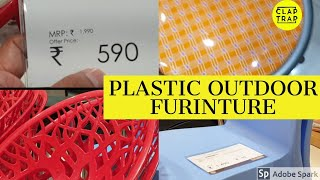 PLASTIC OUTDOOR CHAIRS | ALL INDIA DELIVERY