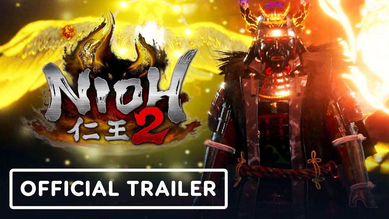 Nioh 2 - Official Launch Trailer