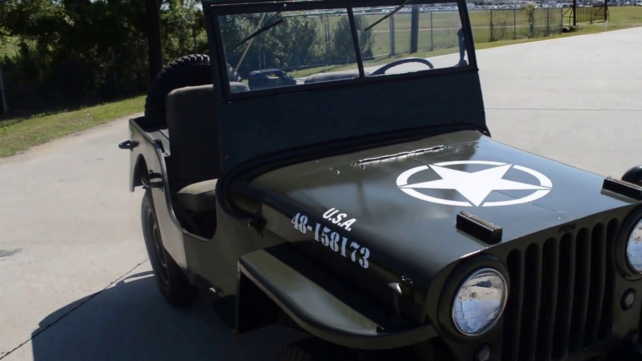 1948 Military Jeep CJ-2A Frank\'s Car Barn - Buy, Sell and Trade ...
