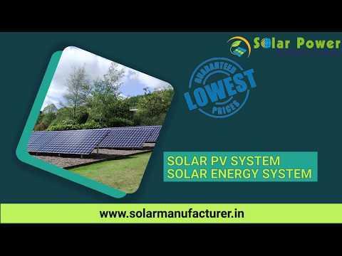 Solar Manufacturer, Solar Power Manufacturers India