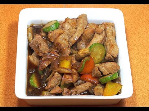 Chinese Pork & Vegetables - Chinese Stir Fry Pork - Easy Chinese Pork Recipe