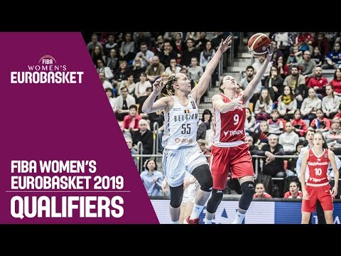 Czech Republic v Belgium - Full Game - FIBA Women's EuroBasket 2019 Qualifiers