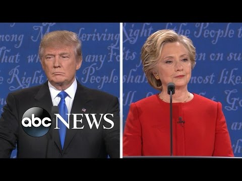 Clinton, Trump Spar Over Taxes, ISIS in 1st Presidential Debate