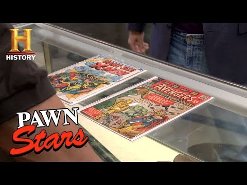 Pawn Stars: Avengers Number 1 and Giant-Size X-Men Number 1 | History