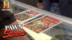 Pawn Stars: Avengers Number 1 and Giant-Size X-Men Number 1   History