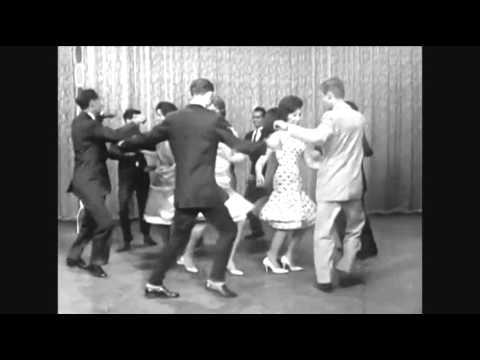 Dance Demonstration of The Twist 1961