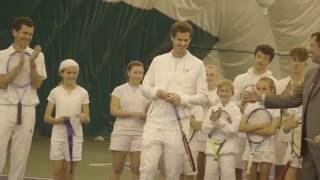 Andy Murray opens All England Club Community Sports Ground in Raynes Park