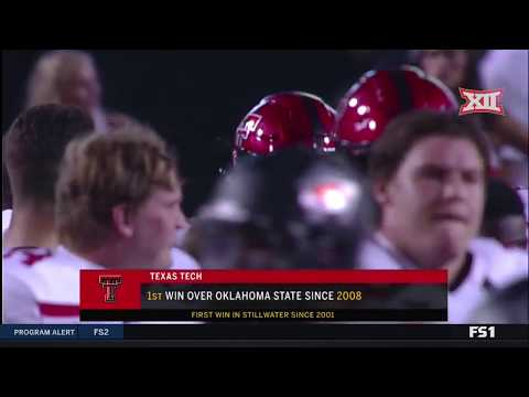 Texas Tech vs Oklahoma State Football Highlights