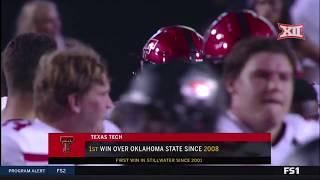 Texas Tech vs Oklahoma State Football Highlights